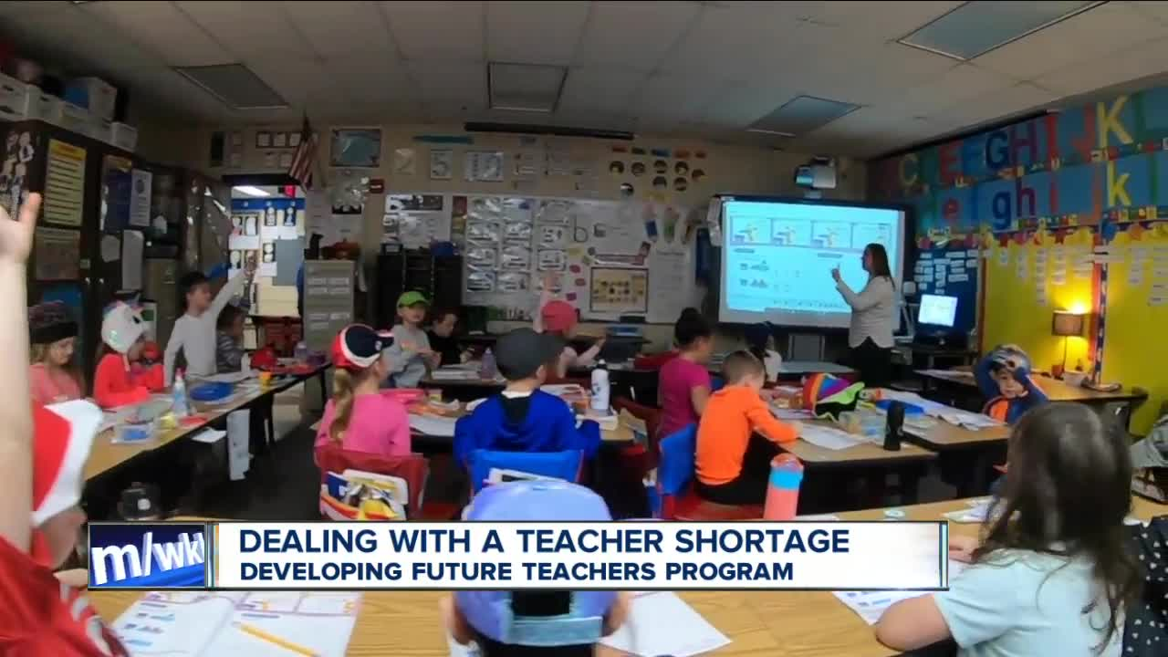 West Seneca Schools & Buffalo State tackle teacher shorage