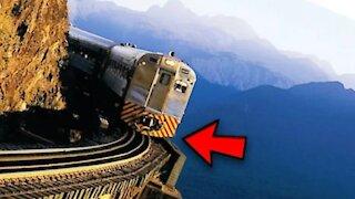World most dangerous railway track
