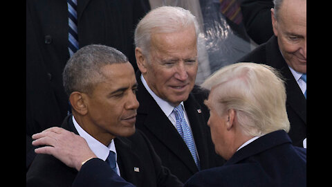 Mandatory RE Upload: Joe & O Trump The NWO Plan Of The M-O-T-B World Leaders Laughing Now!!