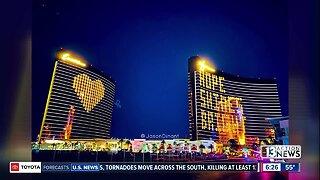 'Hope Shines Bright' on the Las Vegas Strip