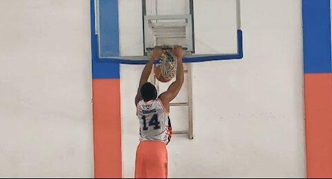 Obinna Ezeike Lazy two-step basketball Dunk drill