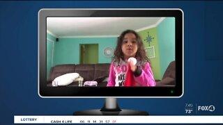5-year-old Charlotte County girl does Coronavirus Newscast