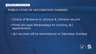 How to choose between Johnson & Johnson and Moderna vaccines at Publix