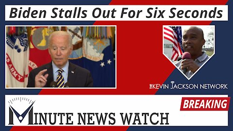 Biden Stalls Out For Six Seconds