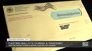 Casting ballots during a pandemic for vulnerable Arizona voters
