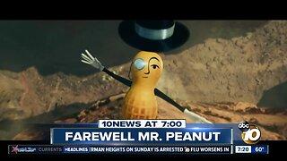Mr. Peanut being killed off?