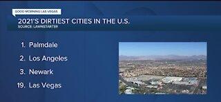 Las Vegas ranks among dirtiest cities in America, report says
