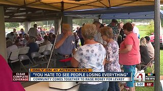 Community comes together to raise money for Levasy