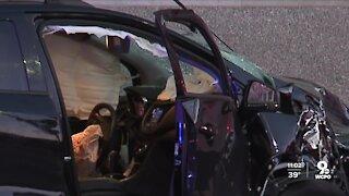 Cincinnati police pursuit ends in crash Downtown