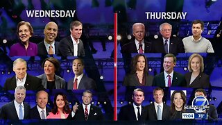 Wednesday is Day 1 of the first Democratic debate