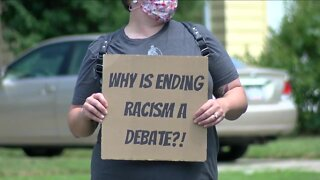 Rally for racial, economic and education justice held in Amherst