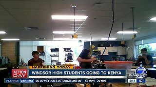 Windsor High School students going to Kenya