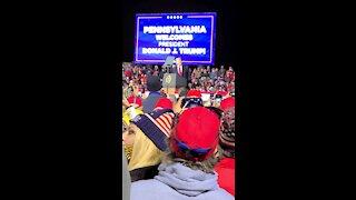 Trump Shows Sleepy Joe Fracking video