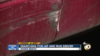 Police searching for hit-and-run driver