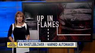 KIA Whistleblower: I warned automaker about car fires
