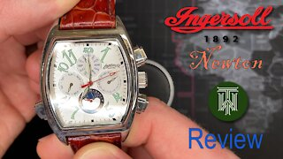 Ingersoll Newton Limited 50m Automatic Watch - Review (IN1900WH / Seagull TY-2806)