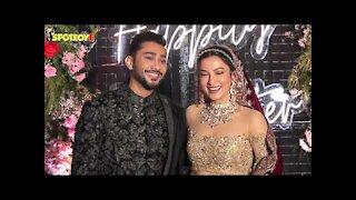 Gauahar Khan and Zaid Darbar's Reception Ceremony | SpotboyE