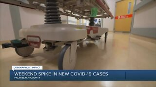 Spike in coronavirus cases causes concern among doctors, leaders in Palm Beach County