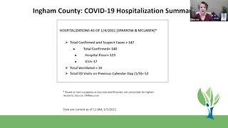 Ingham County Health Department Coronavirus Briefing - 1/5/21