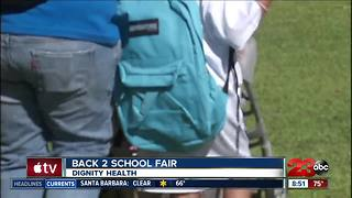 Dignity Health Back 2 School backpack giveaway