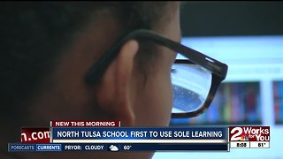 North Tulsa school first to use SOLE learning