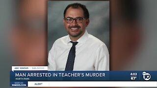 Man arrested in San Diego teacher's murder