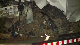 Driver injured in crash after running stop sign in Lorain
