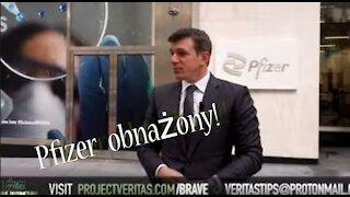 Pfizer obnażony - nagrania z ukrytej kamery - Project Veritas