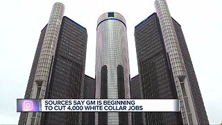 General Motors begins cutting 4,000 white collar jobs