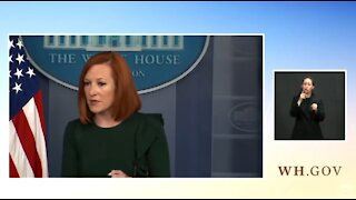 Psaki: Republicans Are The Ones Defunding The Police By Not Supporting Biden's Jobs Plan
