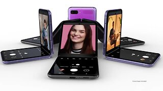 Samsung unveils its new foldable phone, the Galaxy Z Flip