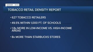 Results of Tobacco Retail Density report