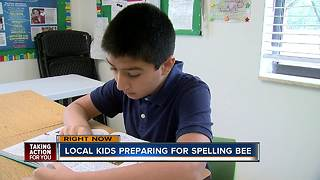 Awwab Azam | Local kids prepare for Scripps National Spelling Bee