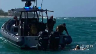 Martin County marine deputies rescue couple after boating emergency