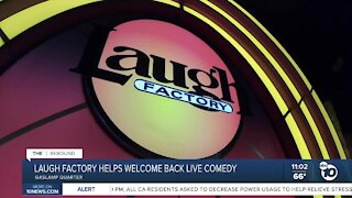 Laugh factory opens in San Diego