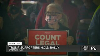 Trump supporters gather for 'Protect the Vote' rally in Tulsa