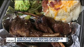 We're Open Detroit: Get ready for a tasty TakeOut Tuesday!