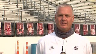 Interview with Holland Hall Football Coach