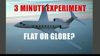 Flat Earth Level Flight Pilot Challenge