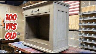 Rustic furniture restoration