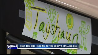 Meet some of the middle schoolers preparing for the Scripps regional spelling bee