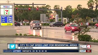 Cape Coral to cap speed limit in residential areas