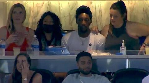 Bam Adebayo CAUGHT Dating Three Women At The Same Time While Attending Miami Baseball Game