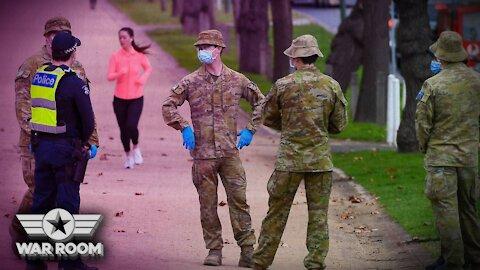 Australia Sends In Military To Enforce Most Severe Lockdown Yet