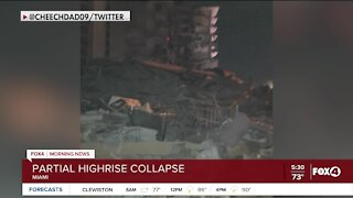 Miami building collapse causes massive emergency response