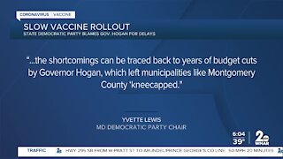 Maryland's slow vaccine rollout