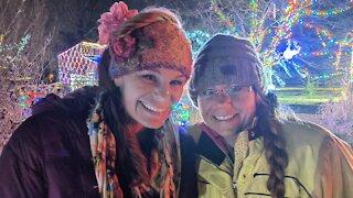 The Christmas Star And Christmas Lights