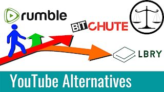 Alternatives for YouTube Creators | BitChute, LBRY, Rumble