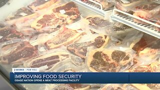 Osage Nation works to improve food security with new meat market