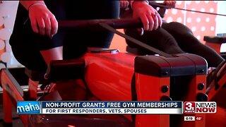 Non-profit grants free gym memberships